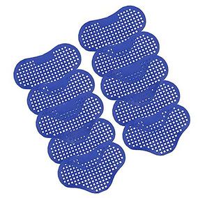 Kit Com 10 Tapete Aromatizador Plástico P/ Mictório Trilha