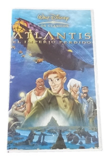 Disney Atlantis El Imperio Perdido Vhs Pelicula En Español