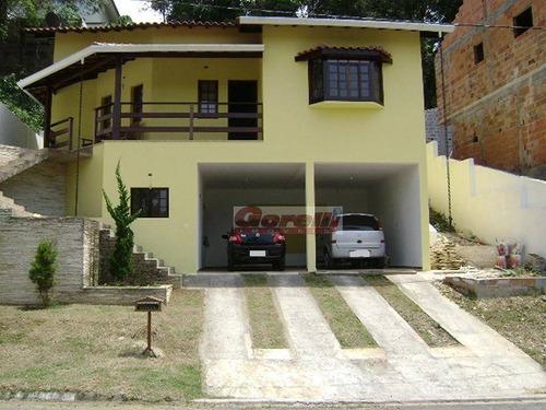 Casa Com 4 Dormitórios À Venda, 220 M² Por R$ 1.880.000,00 - Condomínio Country Club - Arujá/sp - Ca0963