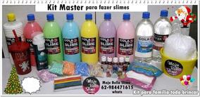 Kit Master Para Fazer Slimes ( Maju Bella Slime )