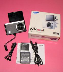 Câmera Digital Samsung- Nx Mini - 20,5 M.-semi Nova