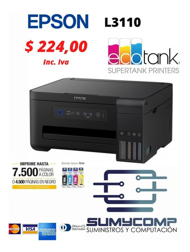Impresora Epson L3110 Epson L4160 2años Garantia Inc Factura