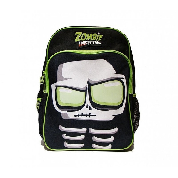 Mochila Espalda Escolar 17 Zombie Infection Grande Original