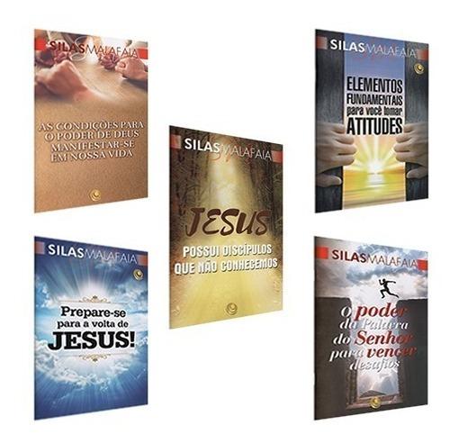 Kit Livros - 05 Unidades - Pastor Silas Malafaia (ref : 2)