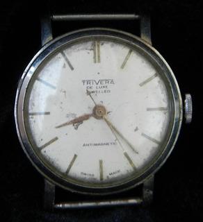 Reloj Pulsera Tipo Roskopff Carga Manual (cuerda)