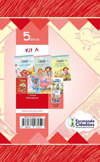Livro Formando Cidadãos Kit A 5 Anos