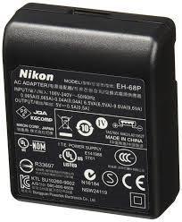 Carregador Nikon Eh-68p Para Câmeras Nikon Coolpix + Nf
