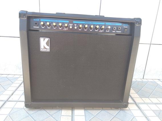 Amplificador Guitarra Kustom Kla80 C/reverb + Foot Revisado