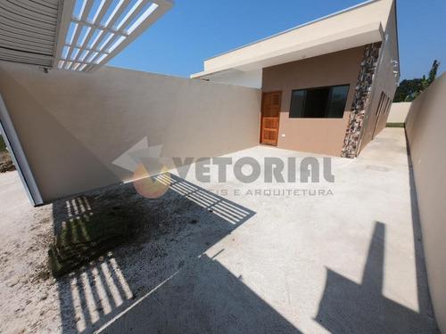 Casa Com 2 Dormitórios À Venda, 55 M² Por R$ 255.000,00 - Balneário Dos Golfinhos - Caraguatatuba/sp - Ca0404