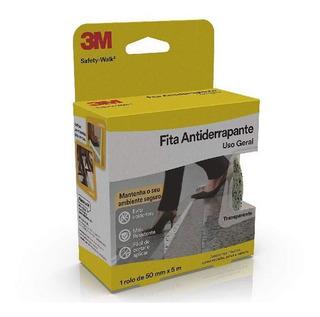 Fita Antiderrapante Safety Walk Transparente 50mm X 5m