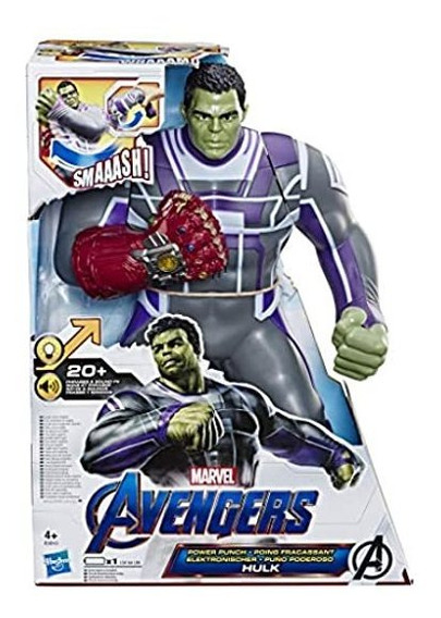 Avengers End Game Hulk Puño Poderoso Figura De Accion Marvel