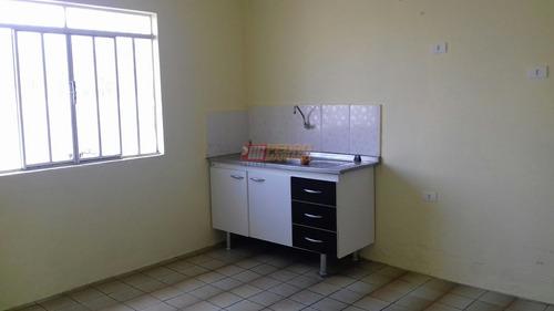 Casa Terrea No Bairro Vila Palmares Em Santo Andre Com 02 Dormitorios - V-28436
