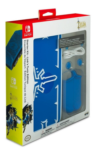 Nintendo Switch Joy Con Estuche Carcasa Maletin Starter Kit
