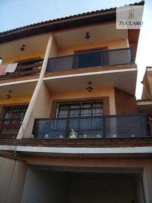Sobrado Vila Augusta Com 3 Dormitórios À Venda, 161 M² Por R$ 530.000- Vila Augusta - Guarulhos/sp - So3924