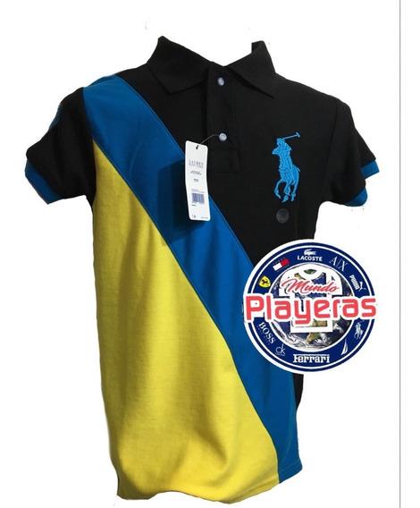 Lote 15 Playeras Tipo Polo
