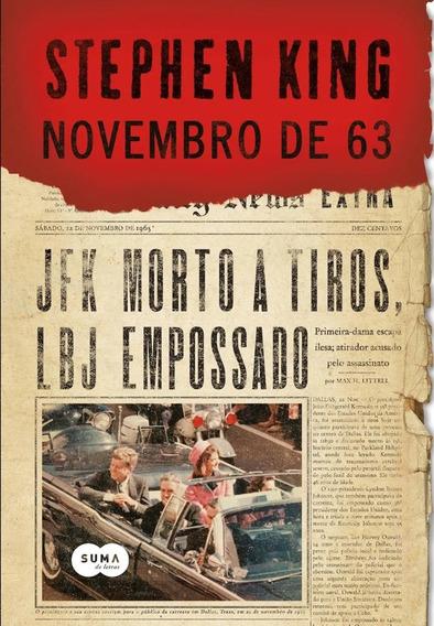 Stephen King - Livro Novembro De 63 - Suma De Letras