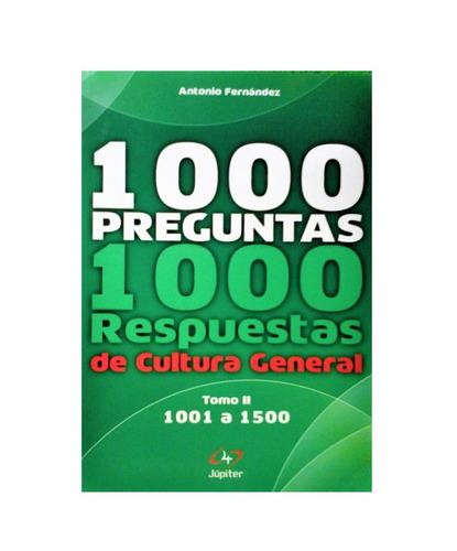 Libro Mil Preguntas Mil Respuestas De Cultura General Mercado Libre
