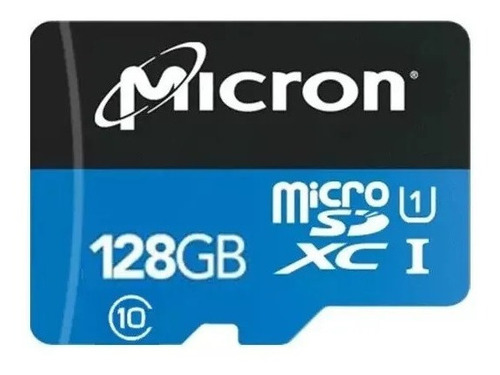 Tarjeta De Memoria Micro Sd 128 Gb Micron