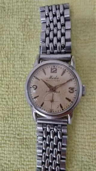 Relógio Mido Multifort Vintage