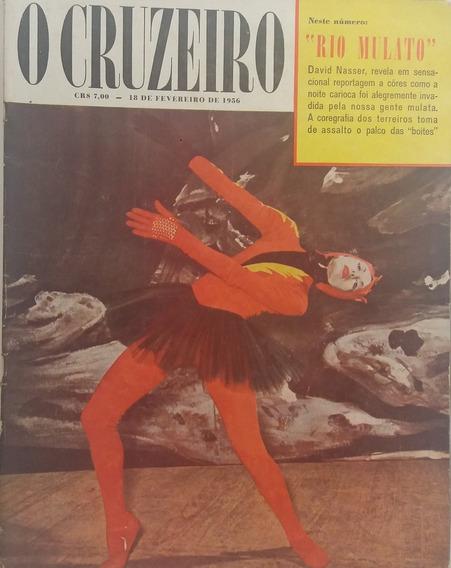 Revista O Cruzeiro 1956 Campeões Do Carnaval Antiga E Raras