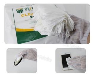 Paños De Limpieza 10x10cm Anti Estáticas / 400uds / Bst-9005