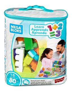 Mega Blocks X 80 Fisher Price Matematicas Mattel Envio Hoy