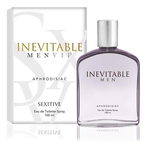 Imagen 1 de 2 de Perfume Hombre Feromonas Inevitable Men Afrodisiaco