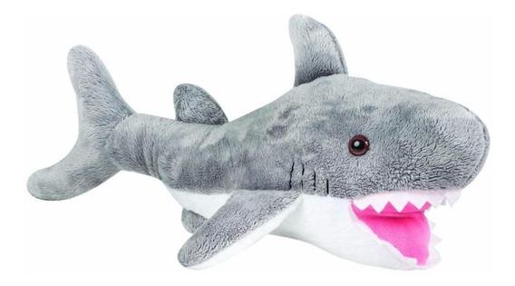 Tubarão De Pelúcia Plush Antialérgica Animais Marinhos