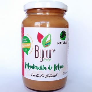 Mantequilla De Mani Byour Food 400gr