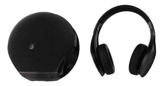 Caixa De Som Motorola Sphere Plus 2 Bluetooth Fone Sp003bk