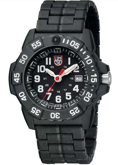 Relógio Luminox Xs.3502 Navy Seal Trident Carbono