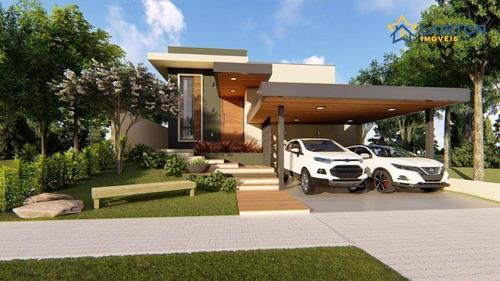 Imagem 1 de 5 de Casa Com 3 Dormitórios À Venda, 171 M² Por R$ 950.000,00 - Buona Vita - Atibaia/sp - Ca2324