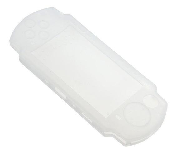 Capa De Silicone Neo Para Psp 2000 3000 Transparente