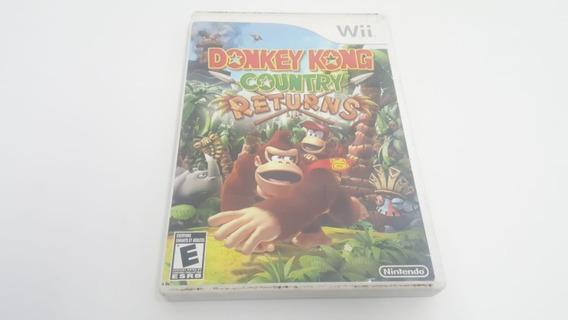 Donkey Kong Country Returns - Nintendo Wii -original - Usado
