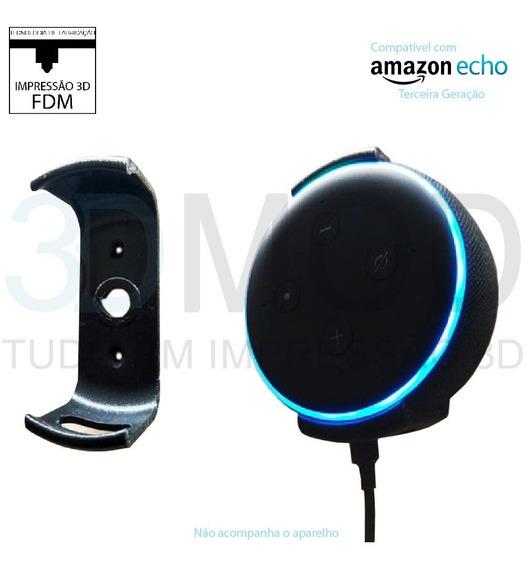 Suporte Amazon Echo Dot V3 3rd Terceira Geração De Parede