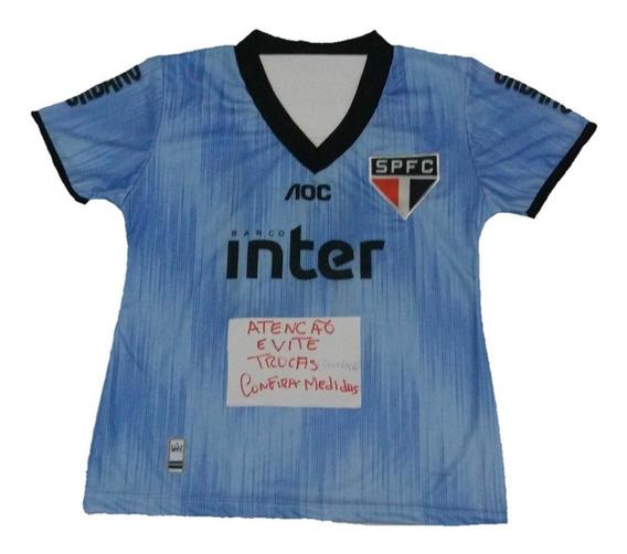 Camiseta Feminina Mini Blusa Adulto Baby Look São Paulo