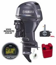 Motores Yamaha 40hp 4tiempos Efi Full Pata Larga - Renosto