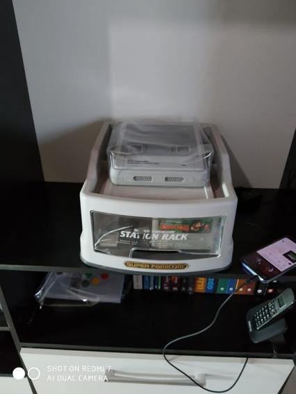 Station Rack Famicom | Caixa Super Famicom