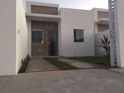 Casa Com 1 Dormitório À Venda, 43 M² Por R$ 90.000 - Praia Do Amor - Conde/pb - Ca0388