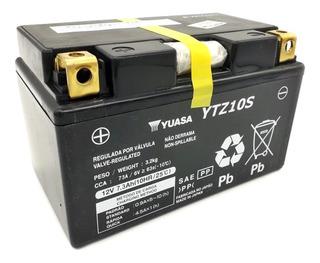 Bateria Yuasa Ytz10s Cb1000 Cbr650 Hornet R1 R6 Cb500 R X F