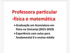 Aulas Particulares De Física E Matemática