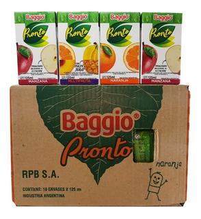Jugo Baggio 125ml (pack X 18un) - Barata La Golosineria