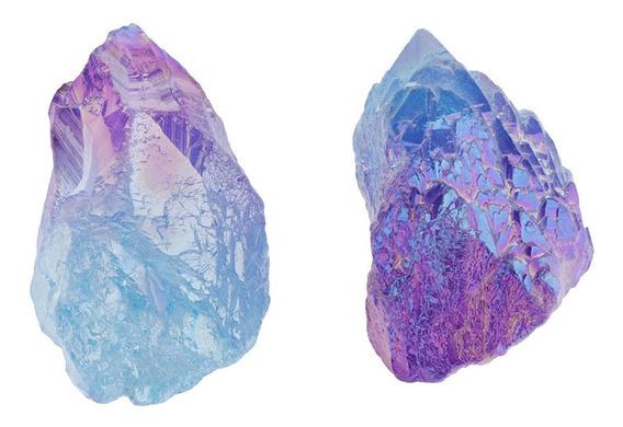 2 Pcs Pedras Raw Pedras Naturais Pedras Raw Pedras Pedras De