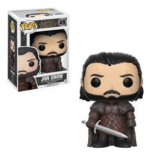 Funko Pop 12215 Vinyl Game Of Thrones Jon Snow #49 Original