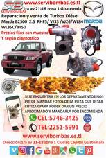 Oferta Turbo Nuevo Mazda B2500 2.5 Rhf5/ Vj33 /vj26/wl84