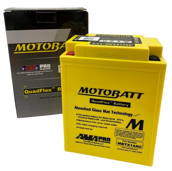 Bateria Honda Gl 650i Silver 1983 Motobatt Mbtx14au