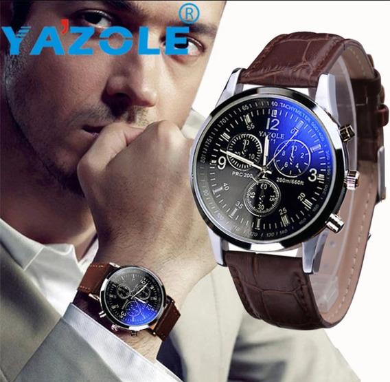 Relógio Masculino Analógico Yazole Original