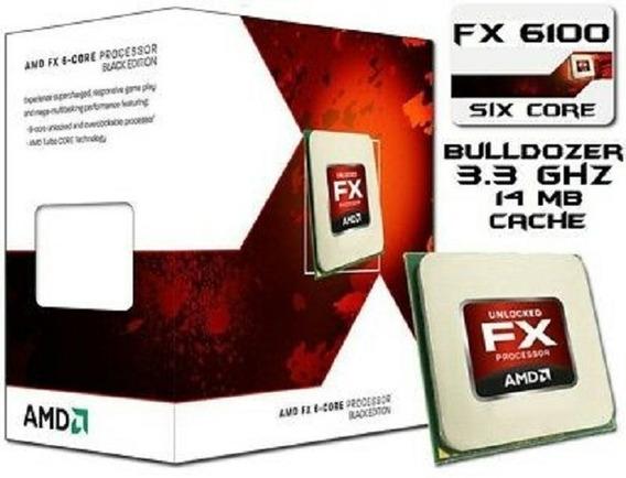 Processador Amd Amd Fx6100 De 3.3ghz Socket Am3+
