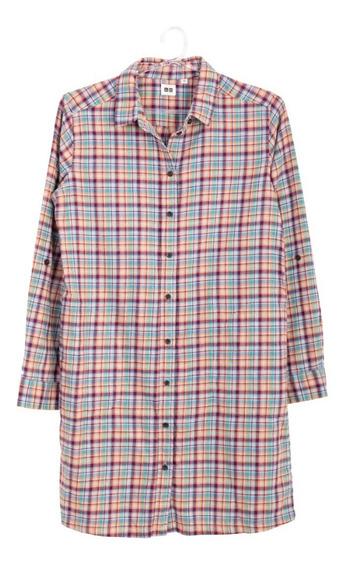 Camisa Cuadros Uniqlo