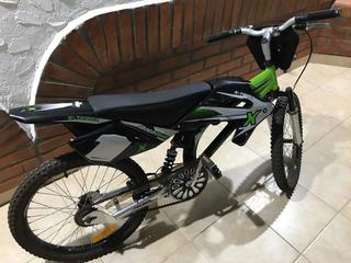 Bici Moto X-terra R20 Para Niños